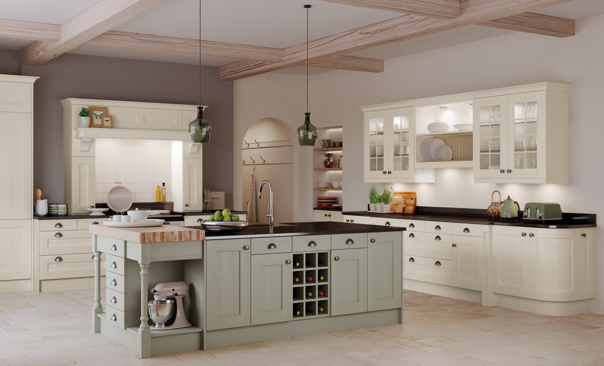 Traditional Kitchens New England Kitchens